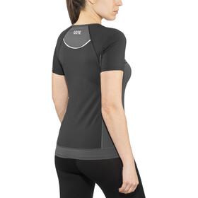 GORE WEAR R5 Koszulka do biegania z krótkim rękawem Kobiety szary/czarny